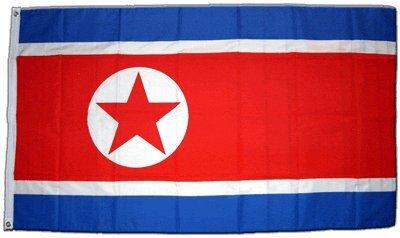 XXL Flagge Fahne Nordkorea 150 x 250 cm
