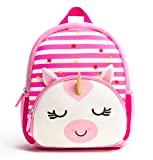 Product Image of the Toddler Backpack, Waterproof Preschool Backpack, 3D Cute Cartoon Neoprene Animal...