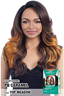 MODEL MODEL DEEP INVISIBLE L PART LACE FRONT WIG RINGGLE CURL (1)