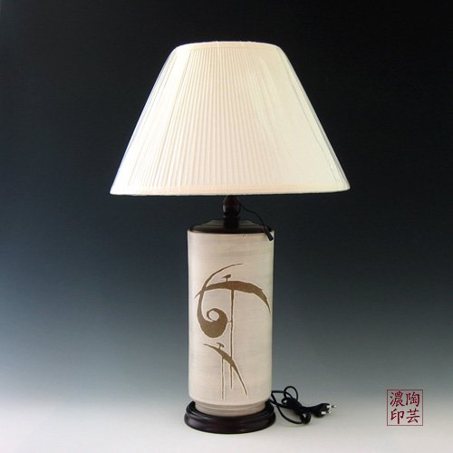 Lampe Table Porcelaine Blanche Grand Luxe Design Asie
