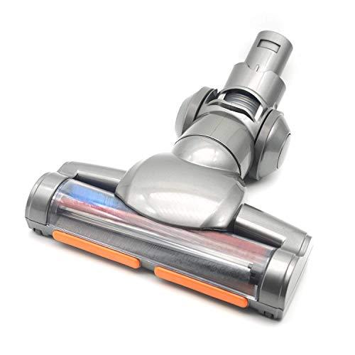 EZ SPARES DYS V6 DC45 床に適して ブラシアタッチメント、バンパーストリップ付きソフトローラークリーナーヘッド、ビッグサクション、マルチアングル回転用EZスペア交換