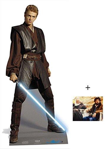 Anakin Skywalker von Star Wars Lifesize Lebensgrosse Pappaufsteller mit 25cm x 20cm foto