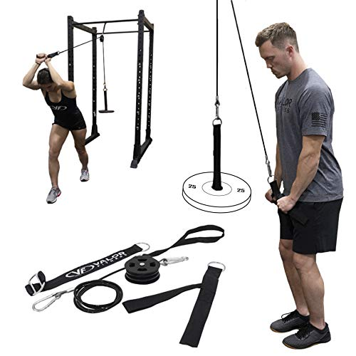 Valor Fitness PY-1 Portable LAT Pull Down Machine