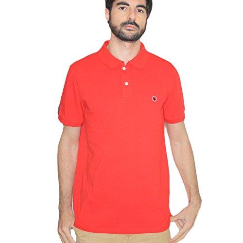 El Ganso Walking II Polo, Rojo, Small (Tamaño del Fabricante:S) para Hombre