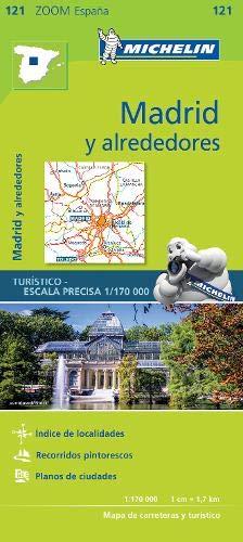 Mapa Zoom Madrid y alrededores (Mapas Zoom Michelin)