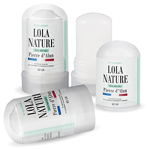 Pierre d'Alun Lola Nature - 3 sticks Déodorant de 60gr...