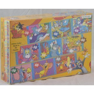 Rompecabezas Puzzles Tom and Jerry Puzzles for Adults Kids, Art Family Rompecabezas Puzzles Educational Gmes, 1000 Pieces