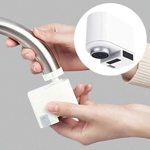 Fashio Grifo de Agua Adaptador automático del Sensor de Movimiento del Grifo, Agua del Grifo para el Fregadero del baño de la Cocina, aireador Inteligente, Sensor de Grifo Inteligente