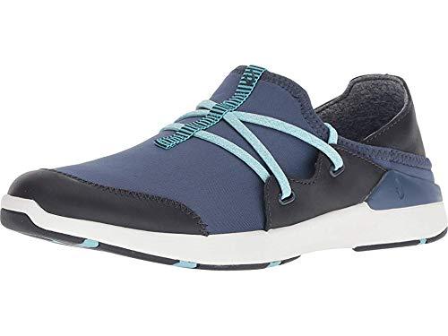 OluKai Miki Li Women's Athletic Shoes Trench Blue/Vintage Indigo - 6