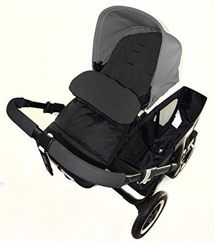 Chancelière/Cosy orteils Compatible avec Orbit bébé nouveau-né G3 Poussette Black Jack