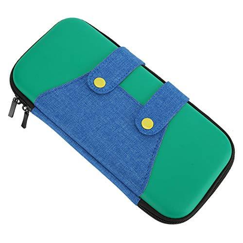 Vipxyc Estuche de Transporte, Bolsa de Almacenamiento Dura portátil, Bolsa de Viaje Protectora Delgada, con Espuma Suave Resistente a los Golpes(Green)