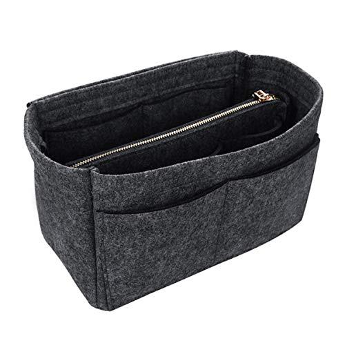 DKHF Cosmetic bag Felt Insert Bag Cosmetic Bag Storage Bag Handbag Portable Cosmetic Bag