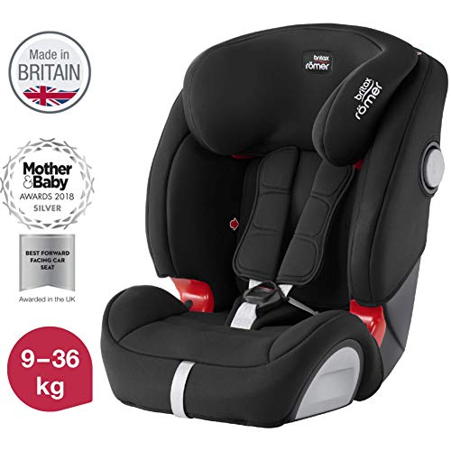 Britax Römer car seat EVOLVA 123 SL SICT Isofix group 1/2/3, Cosmos Black, 9-36 kg