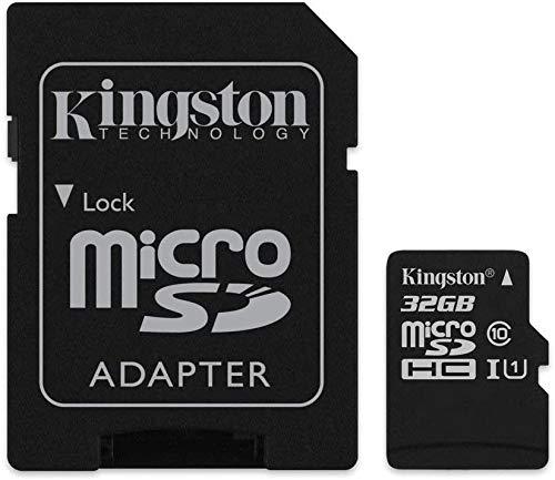 Original Kingston MicroSD SDHC card memory card 32GB For Samsung Galaxy Tab A 10.1 (2016)