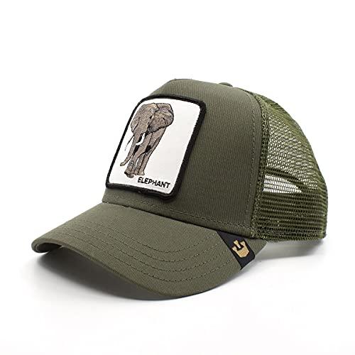 Goorin bros Trucker Cap - Elephant/Elefant - Olive - One-Size