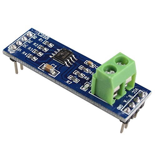 HALJIA Modulo de relé 5 V, MAX485, módulo TTL a RS-485 Compatible con Arduino