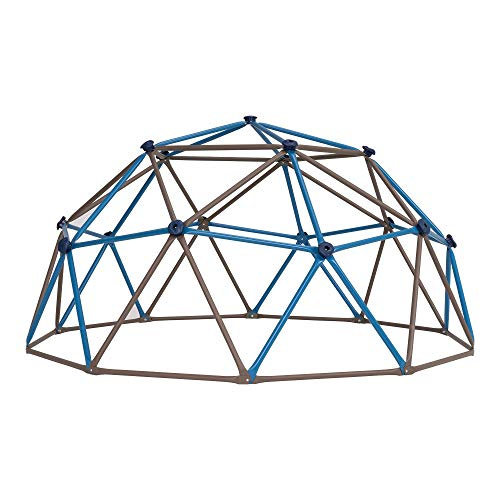 LIFETIME Unisex-Youth Dome Climber Jungle Gym, Blue & Brown, 54 Inch