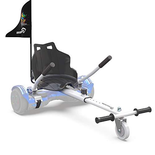 EVERCROSS Hoverkart, Accesorio para Asiento de Kart para Hoverboard de 6.5 Pulgadas, 8 y 10 Pulgadas