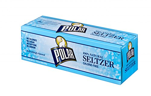 Polar Original Seltzer 12 oz Cans - Pack of 24