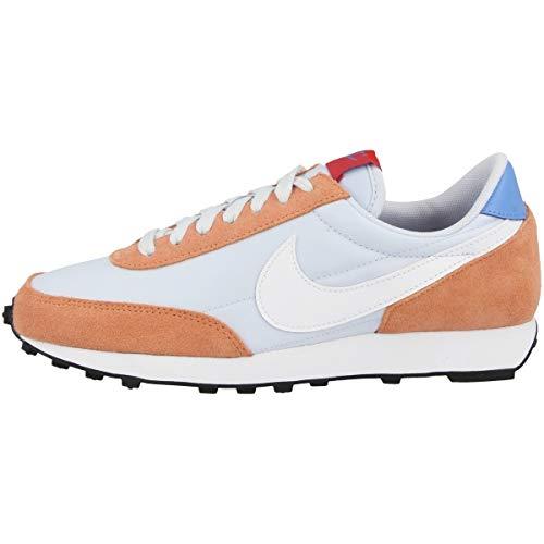 Nike Daybreak, Sneaker Femme, Football Grey/Blanco-Orange Trance, 41 EU