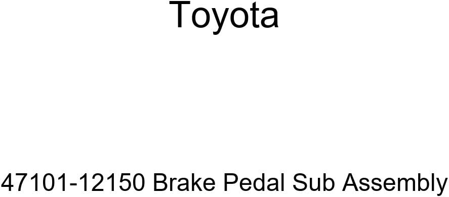 TOYOTA Seattle Mall Genuine 47101-12150 Brake Assembly Max 68% OFF Pedal Sub