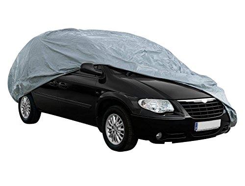 Cover+ Funda Exterior Premium para Mercedes Viano, Impermeable, Doble Capa sintética y de Finas trazas de algodón por el Interior, Transpirable para Evitar la condensación en el Parabrisas.