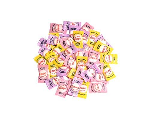 intact Traubenzucker, Joghurtmischung, 500g Vorratspack - ca. 180 Bonbons einzeln verpackt