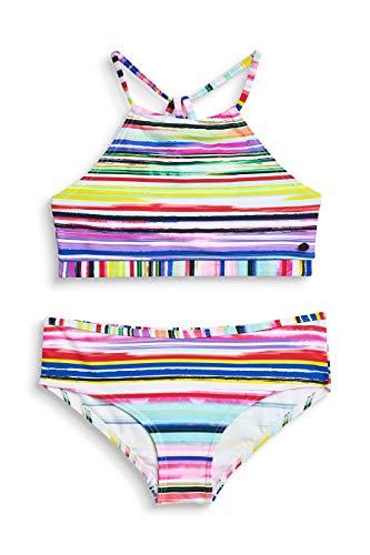 ESPRIT Mädchen Hazel Beach YG Americ Neck+hip Badebekleidungsset, Rosa (Pink Fuchsia 660), 170 (Herstellergröße: 170/176)