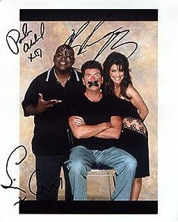 AMERICAN IDOL (Simon Cowell, Randy Jackson, & Paula Abdul) 8x10 Cast Photo Signed In-Person