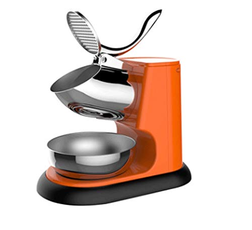 Best Deals! Ice Shaver Machine Electric Snow Cone Maker Stainless Steel Shaved Ice Machine (5 Colors...
