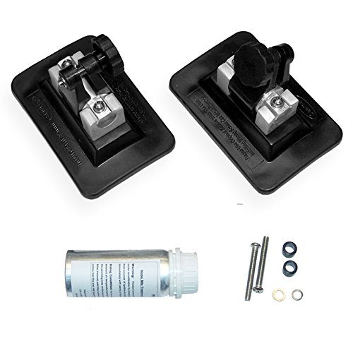 """Seamax Bimini Top Pontoon Fitting Kit for Inflatable Boat, Patch Dimensions 3""""x5"""" (PVC Version with Glue)"""
