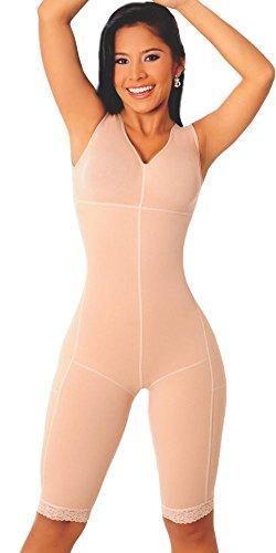 Fajas Salome Women's Powernet Body Shaper Post Partum Colo...