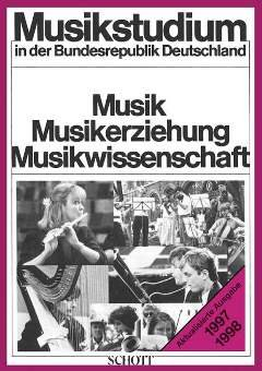 MUSIKSTUDIUM IN DER BRD - arrangiert für Buch [Noten / Sheetmusic]