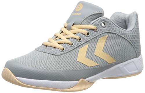 hummel Damen Root Play 3.0 Handballschuhe, Grau (High Rise 2368), 36 EU