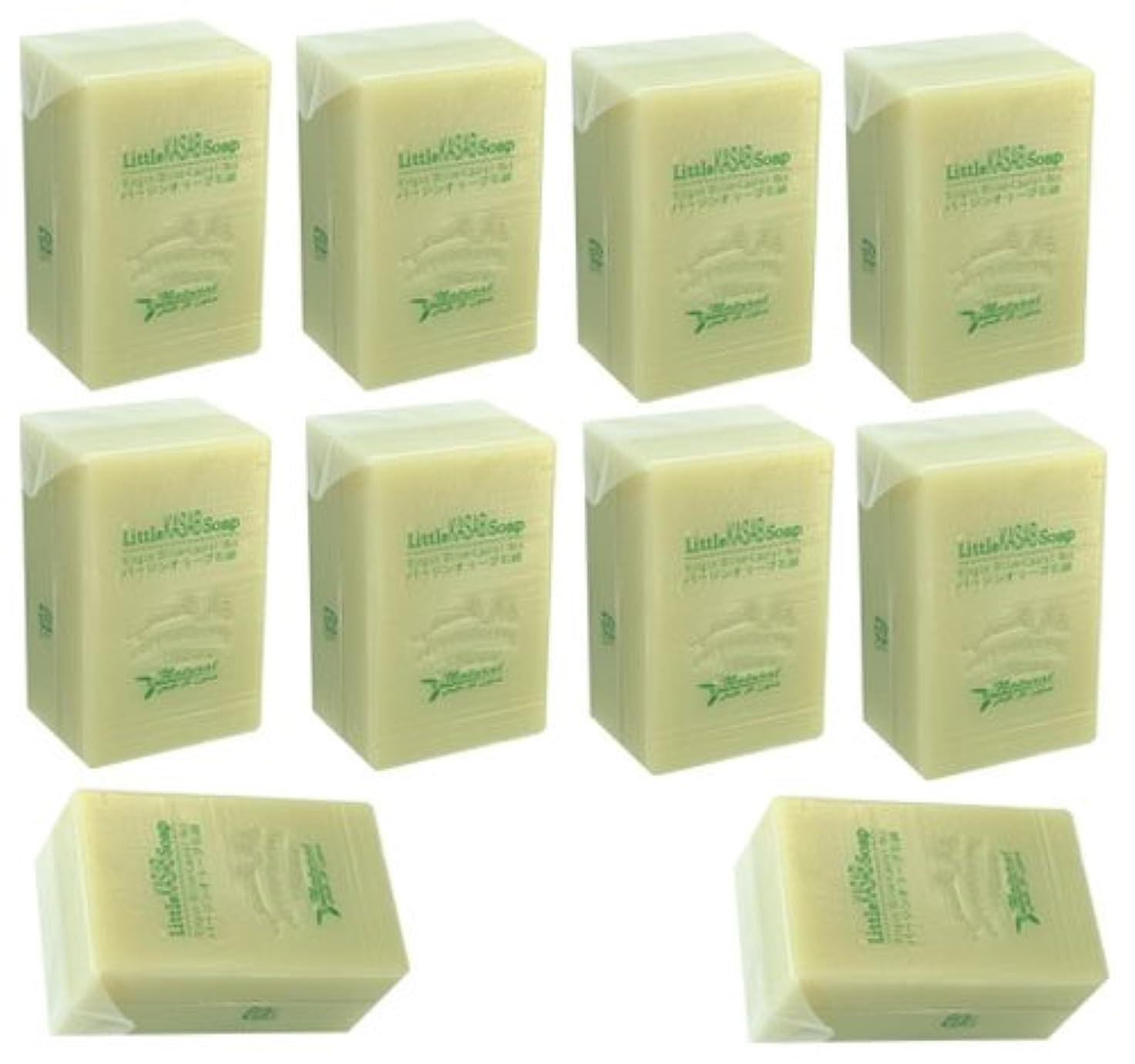 腹台風決済リトルカサブ石鹸10個セット