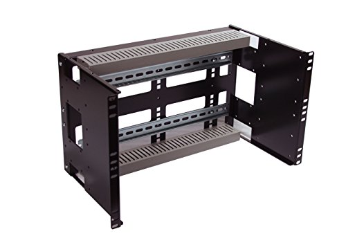 RCB1122BK15 6U Rackmount Din Rail Panel for Standard 19 inch Server Rack