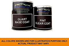 Perfect match to OEM factory color code on your car. Our touchup paint is always freshly mixed so you don't purchase old paint sitting on a shelf or in a warehouse. Includes paint and clear coat in separate cans. Auto Paint Depot larger volume cans a...