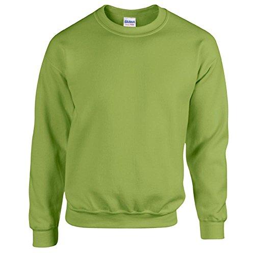 Gildan Heavy Blend Erwachsenen Crewneck Sweatshirt 18000 XL, Kiwi