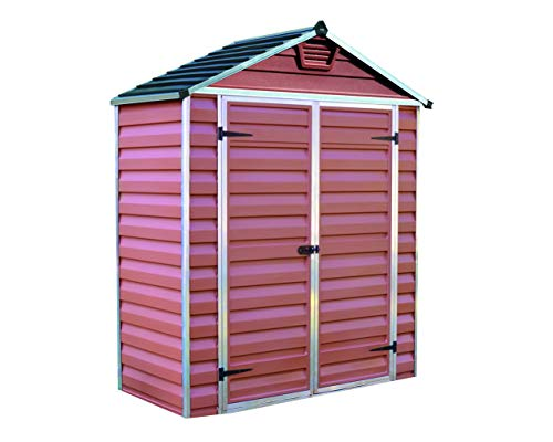 Palram 6ft shed (6x3, Amber)