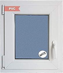 Fenêtre PVC Refermable Oscillo-battante Gauche 500 x 600 1 ventail Avec verre Carglass