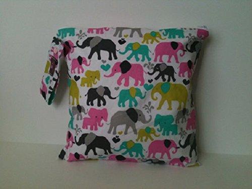 Diaper Bag Waterproof Wet Bag Cream Gold Arrows Cloth Diaper Bag Wet Bag for Cloth Diapers