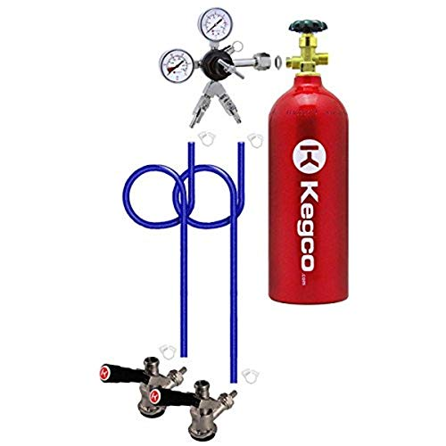 Kegco 2PDDK5 2 Product Direct Draw Kit for Commercial Kegerators and...