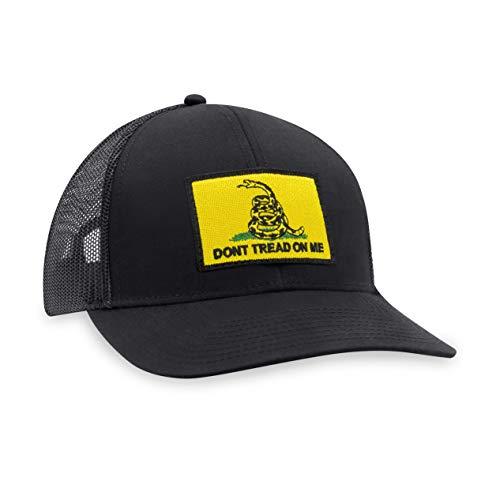 Haka Hat Gorra de béisbol con la Bandera de Gadsden (Negro)