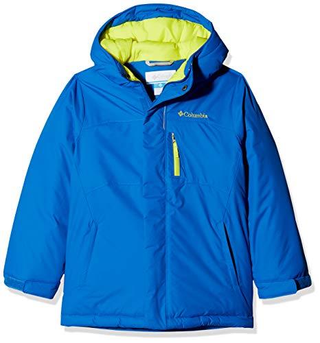 Columbia Chaqueta de esquí para niño, ALPINE FREE FALL, Nylon Hydra Cloth, Azul (Super Blue/Zour), Talla XL