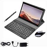 Teeno 10 pulgadas 4g tablet con accesorios con ranuras para tarjetas sim estándar, procesador de cuatro núcleos, 1. 5ghz, 3g + 32gb, doble cámara, wifi, bluetooth, gps