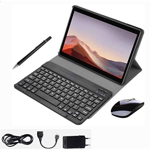 TEENO 10 Pulgadas 4G Tablet con Accesorios con Ranuras para Tarjetas SIM estándar, Procesador de Cuatro Núcleos, 1.5GHz, 3G + 32GB, Doble Cámara, WiFi, Bluetooth, GPS