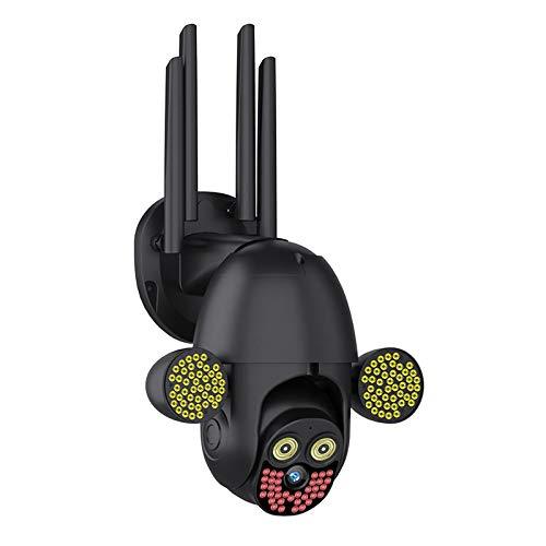 lizeyu Red negra wifi bola cámara inalámbrica casa teléfono móvil remoto