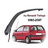 Seven Continents pour Renault Twingo MK1 1993-2007 Essuie-Glace Arrière Bras D'essuie-Glace Pare-Brise Pare-Brise Lunette Arrière (Bras Uniquement)