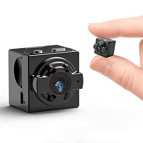 1080P HD WiFi Cámara Oculta Cámara Mini Cámara Espía, Camara Seguridad Pequeña Inalambrica Interior/Exterior (Configuration : 32G)