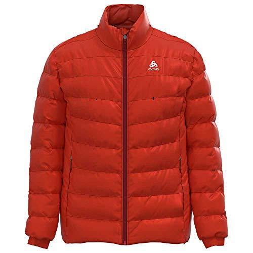Odlo Herren Insulated Cocoon S-Thermic Warm Jacke, Poinciana, XL